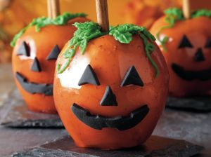 Candy Apple Jack-o-lanterns by Betty Crocker © 2014 ®/TM General Mills All Rights Reserved