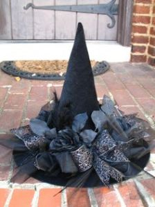 Black as Night hat by English Rose Designs Oh