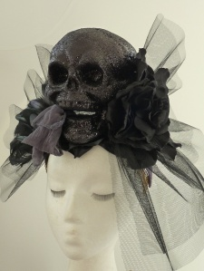 Death Becomes Her fascinator.
