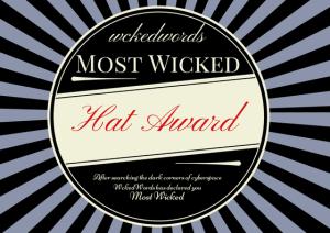 Wicked Award