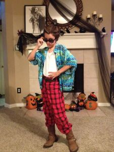 My son as Ace Ventura.