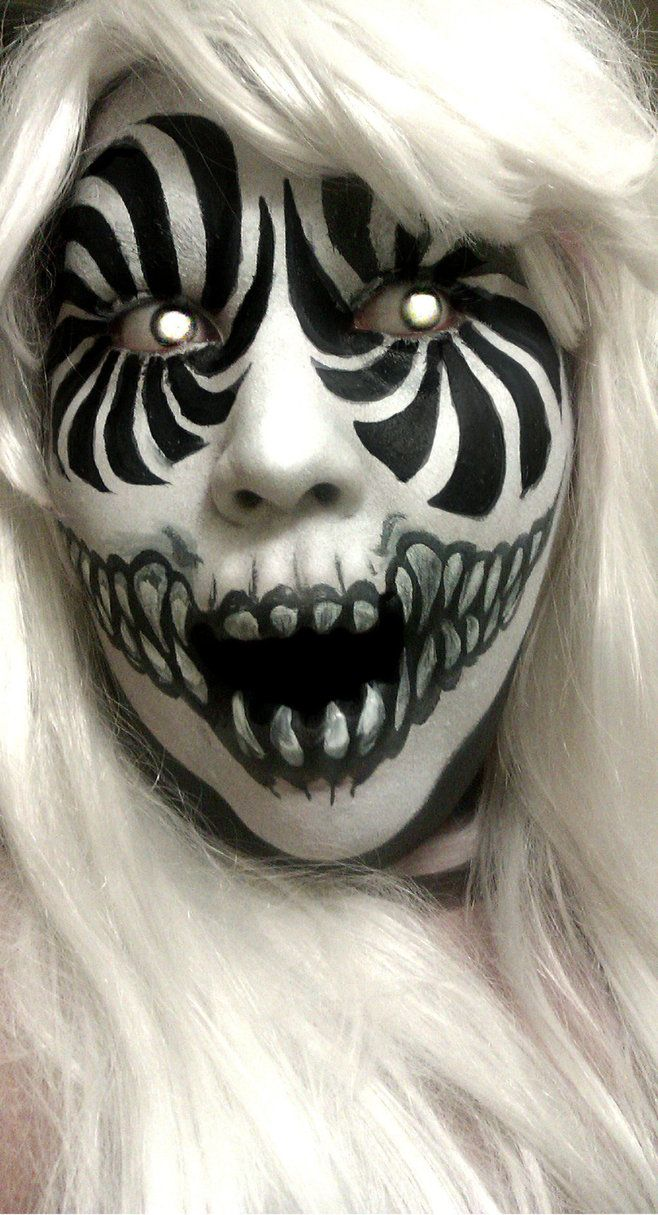 Hallo Wicked Ween Make up Designs That Will Freak Your Sh