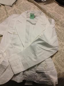 H&M jacket thrift store find.