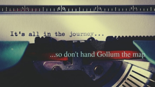 so don't hand Gollum the map