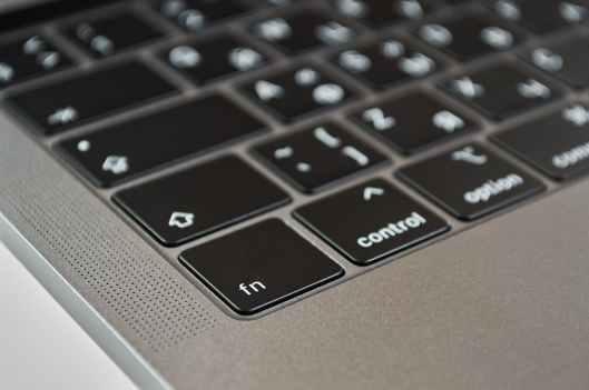 close up photo of macbook keyboard